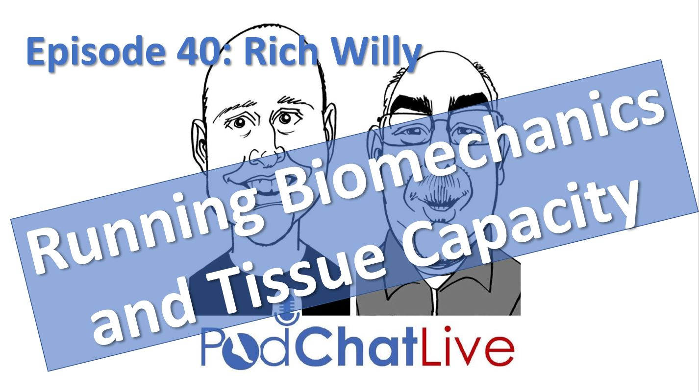 Episode 40 with Rich Willy [Running Biomechanics and Tissue Capacity]