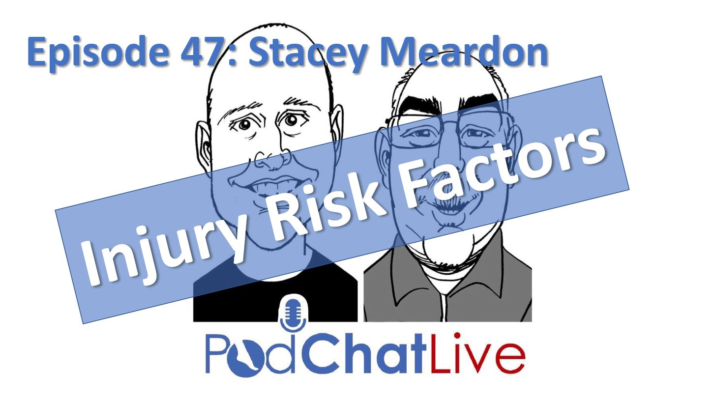 Episode 47 with Stacey Meardon [Injury Risk Factors]