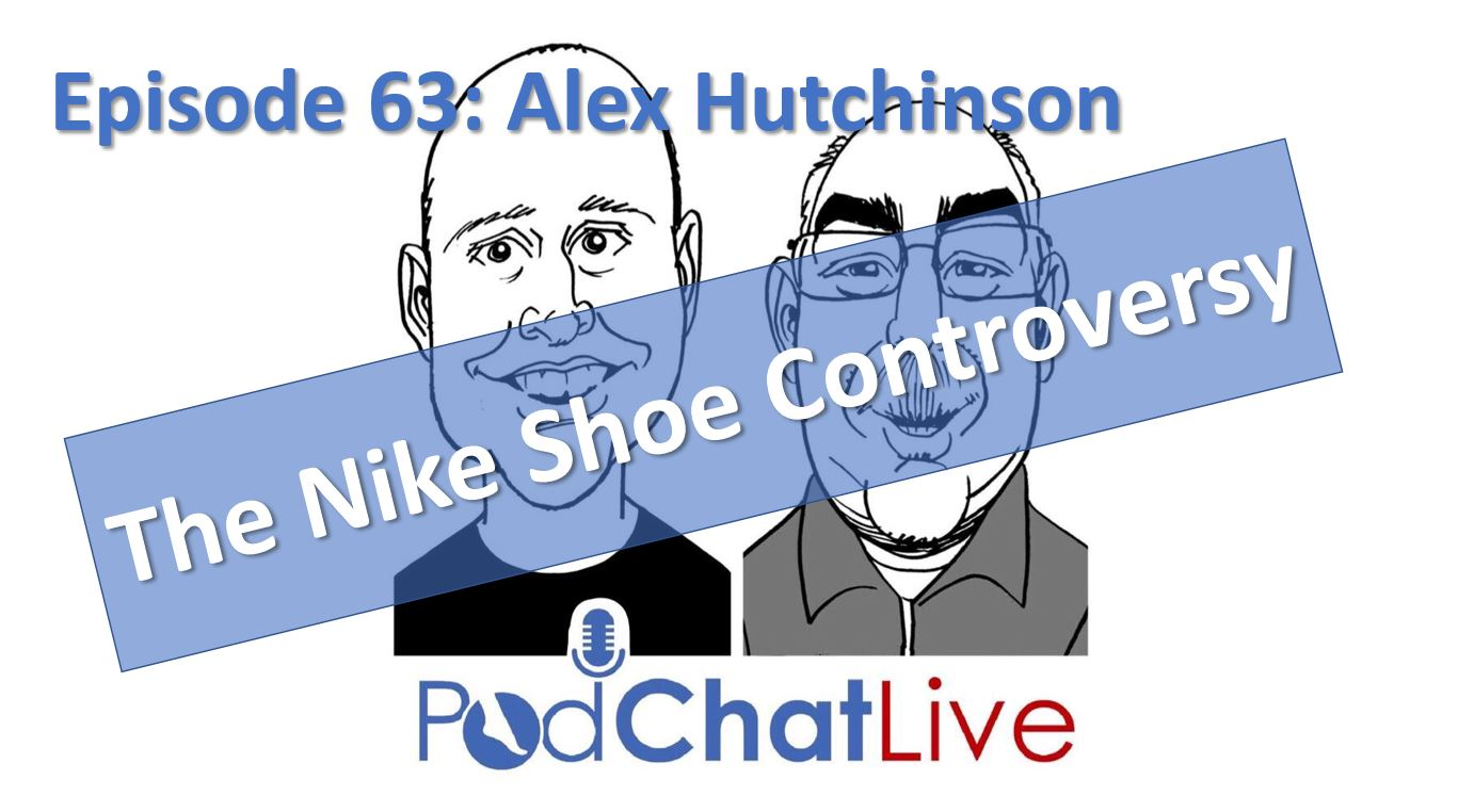 Episode 63 with Alex Hutchinson [The Nike Shoe Controversy]