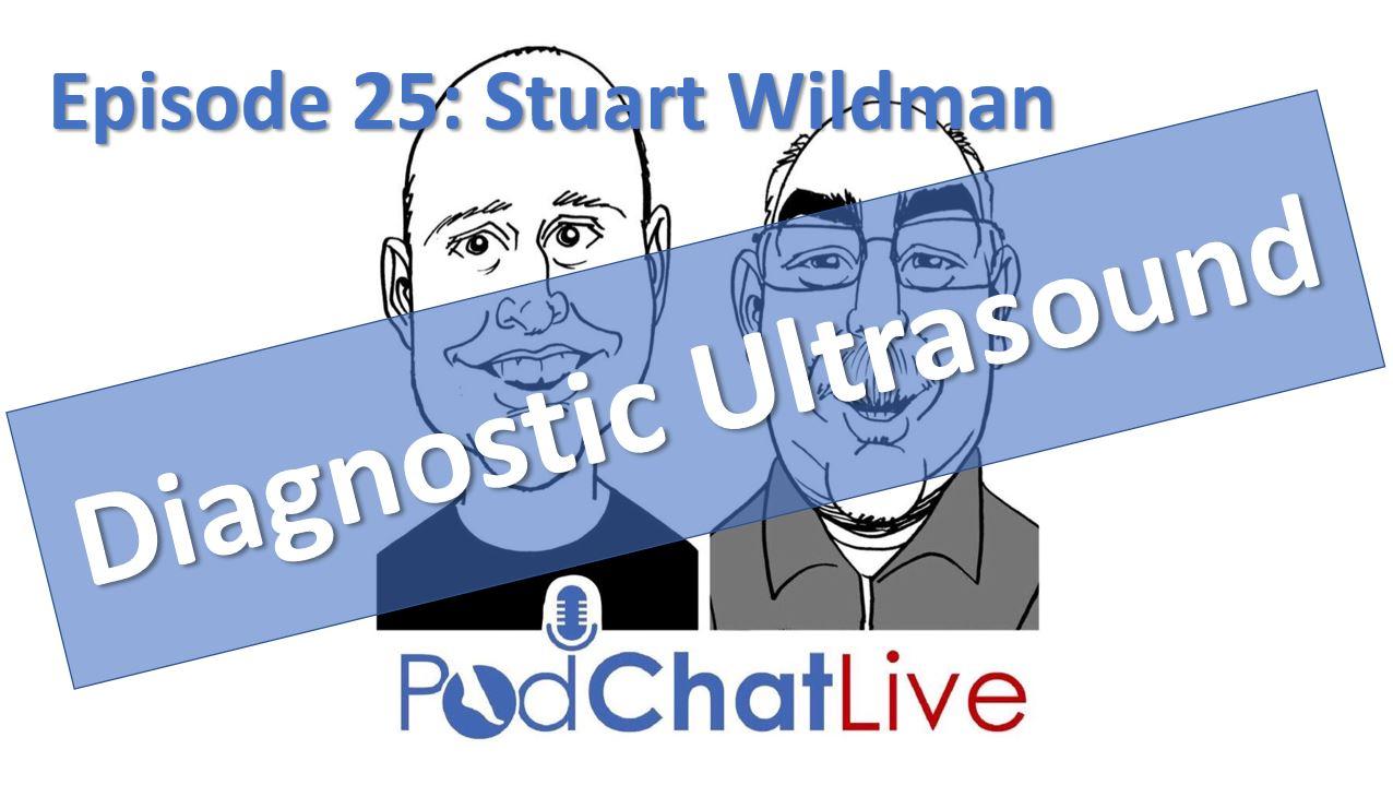 Episode 25: Stuart Wildman [Diagnostic Ultrasound]