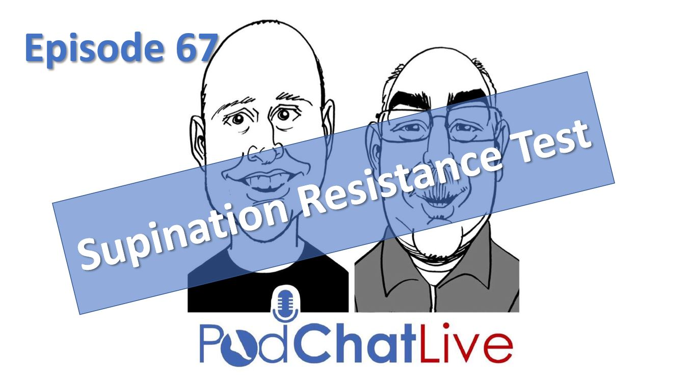 Episode 67 on the Supination Resistance Test